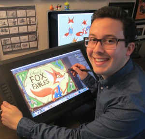 Nick Balian, art manager, illustrator