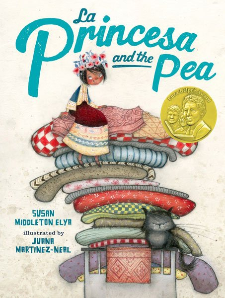The Princesa and the Pea illustrated by Juana Martinez-Neal